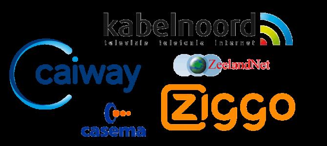 Kabel Kanalenlijst Hans van 14 september 2018